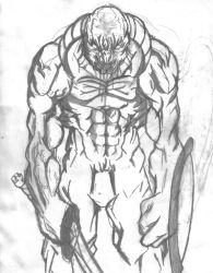 Monster Creation B W by jerome13001