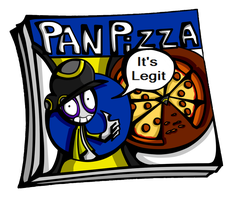 Literal Pan pizza box by Epic-Masterlord