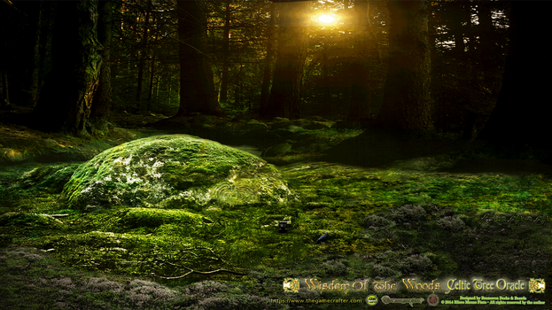 The Sacred Grove Premade Background by Branawen