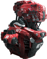 Red Mech by Andrew-Lim