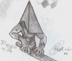 Red Pyramid by FilthHammer