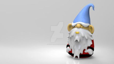 Desktop Gnome by AngryMonday