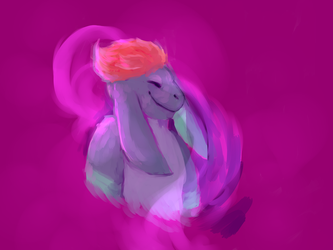 Dances in violet - Commissionn by BirdOfTheUniverse
