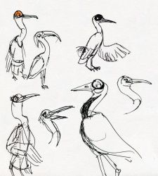 The Fox and the Crane - Crane Concept Designs by HyraxAttax