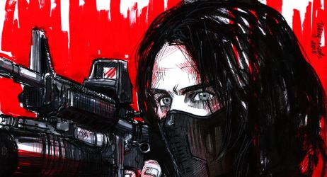 The Winter Soldier | Bucky Barnes by Taking-meds