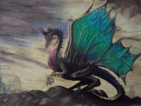 Dragon by ChibiOAlice