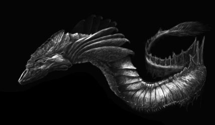 Dragon Fish by MichaelsPencil