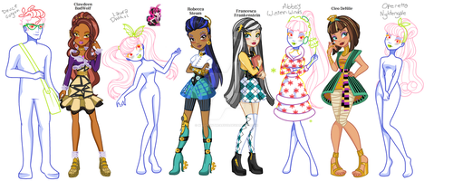 Ever Monster High WIP by MaliceInTheAbyss