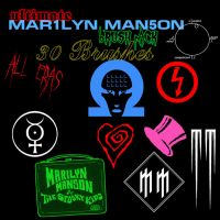 big Marilyn Manson Brush Pack by SikkiArt