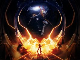 Halo 4 Promethean Orb Wallpaper for iPad by Smyf