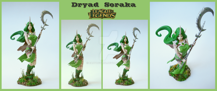 Dryad Soraka [League of Legends] by EarthGuard