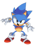 CD/Toei/Classic Sonic Render (Reupload) by Vex2001