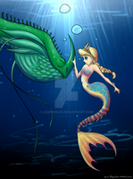 Mermaid Astrid by leafeon-ex