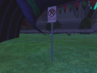 No Parking On The Grass by MasterJingo