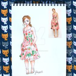 Look of the day 7/100 by Gloewen-Art