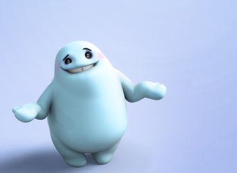 Zbrush Doodle: Day 1321 - I don't know either by UnexpectedToy