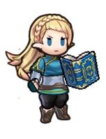 FEH Zelda - Breath of the Wild by AetherCrusader