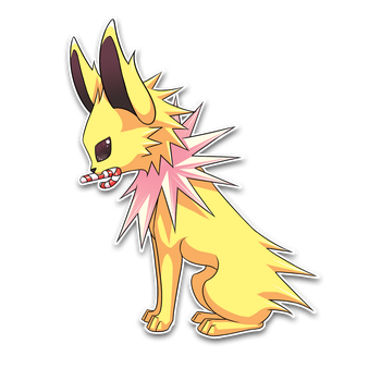Gift Art: Jolteon by hikaruko