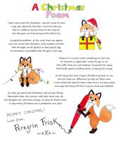 A Chistmas Poem by PeregrinFrisk