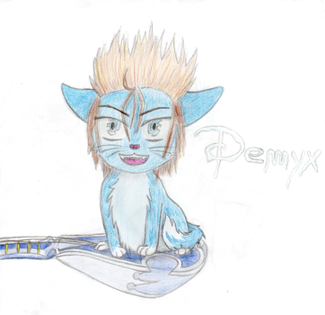 Kitty Demyx by EmaXuratas