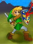 Link Fighting in the Fields by A-Missing-Link