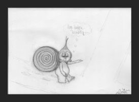 Baby Snonionypire (rough sketch) by missingmom
