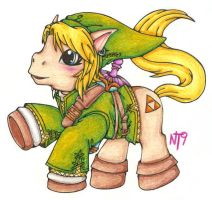 MLP Link by Neotokyo9