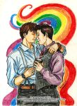 PRIDE #6 'My cup of coffee' (Janto) by k-tiraam