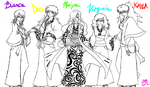 MSAA Line-Up :sketch: by Serene-SimpliciT