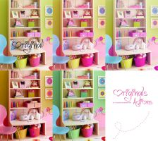 pack 4 actions cute. by stylemiley