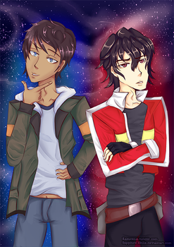Voltron: Lance and Keith | Legendary Goofballs by Sapphire-Skillz