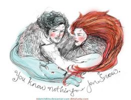 You know nothin' Jon Snow by sketchditto