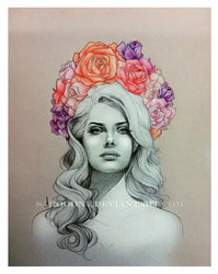lana del ray by saro-sah