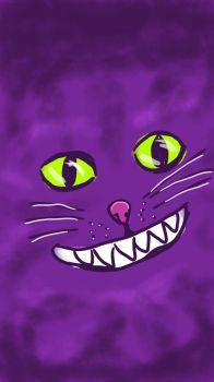 Cheshire cat by linceoscuro