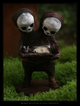 Siamese twin with friend i by torvenius