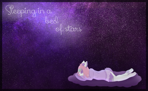 AT: Sleeping in a bed of stars by MUFFlNS