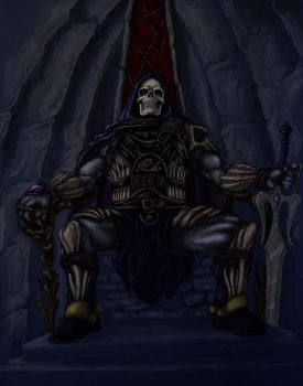 Skeletor by turrul2000