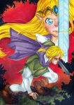 The legend of Zelda - AU - I'll protect you... by CossetteMirage