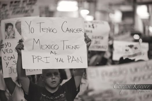 El Cancer de Mexico by MudosFonemas