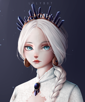 White princess by Lulybot