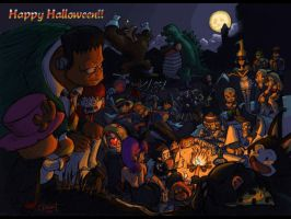 Halleeween Partay by dchan316