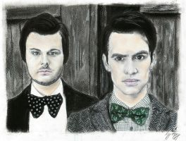 Spencer and Brendon by mrsxbenzedrine