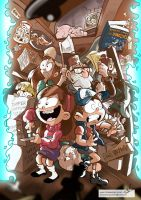 Gravity Falls by mariods