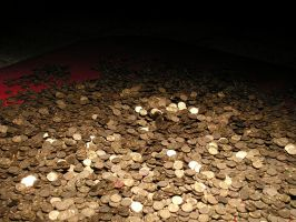 pile of golden coins by doko-stock