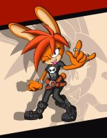 Sonic Forces - Punk the Rabbit by pedrocorreia