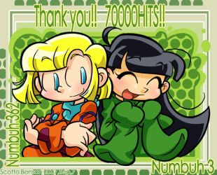 Numbuh Three and Numbuh 362 by Re3andScotty