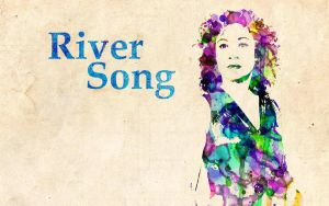 River Song: Watercolor by ElijahVD