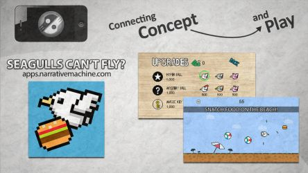 Seagulls Can't Fly? App Promo by TowiWakka