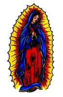 Virgin Mary (colored) by libranchylde