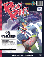 Rocket Ray's Diner Poster. by MMB-7